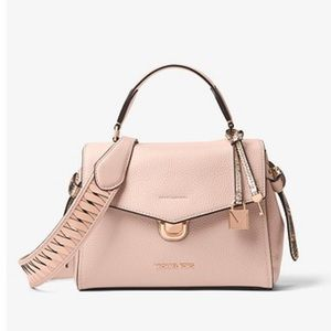 Micheal Kors Woven Leather Shoulder Strap